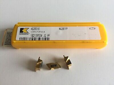 Kennametal Ng2031r Series Kc730 Groove Inserts....5 Inserts As Shown.