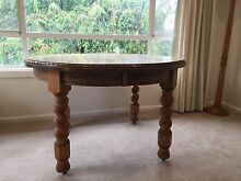 Antique Jacobean Oak Round Dining Table Campbell North Canberra Preview