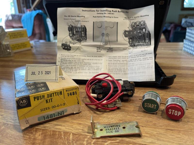 Allen Bradley Push Button Kit 1481-N1