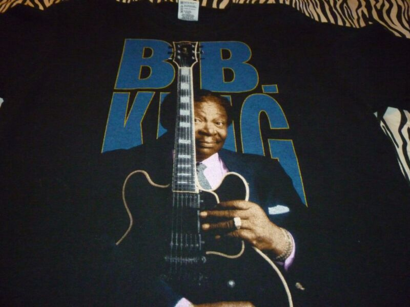 B.B. King Vintage Tour Shirt ( Used Size L ) Good Condition!!!
