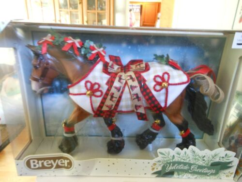 Breyer HORSE #700123 HOLIDAY HORSE 2020 TRADITIONAL 1:9 Scale