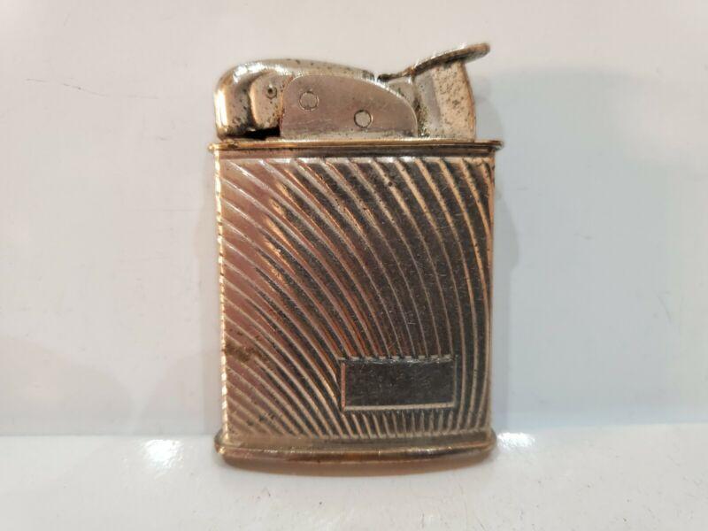 Vintage Working Evans Cigarette, Cigar Silver Tone Lighter   3161.34