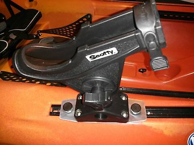 (Casting & Spinning Rod Holder for SlideTrax Slide Rail Wilderness Kayak)