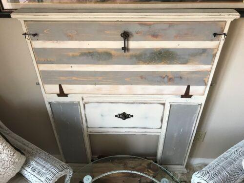 Fireplace Surround Desk--Hygge/Farmhouse