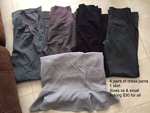 Size xs & small maternity tops, bottoms and dresses