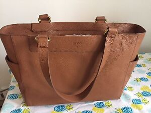 Brown Fossil tote/handbag