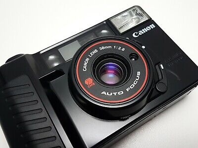 + FILM TESTED + Canon Sure Shot AF35M II Compact 35mm Point & Shoot Film Camera