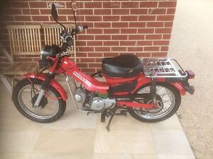 Honda Postie Bike 2006 CT110 Trinity Gardens Norwood Area Preview