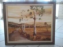 Original oil painting of country scene,lnene Barnett. Sylvania Waters Sutherland Area Preview