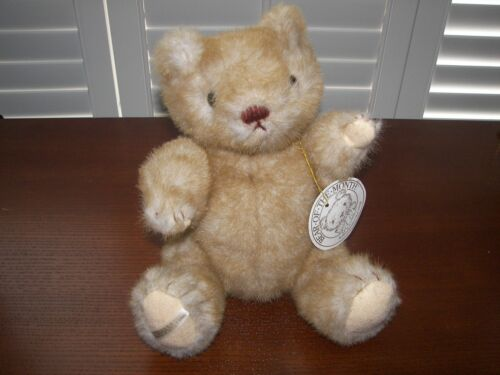 """1984 Gorham  """"Bear-of-the-Month"""" 12.5"""" Jointed Plush Bear"""