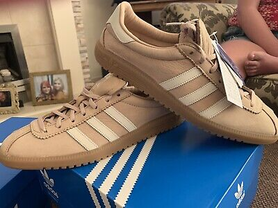 Adidas Bermuda  In Light Beige Bnib With Tag Size 10.5