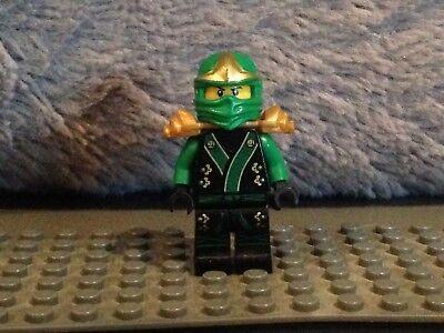 Lego ninjago green ninja with gold hints