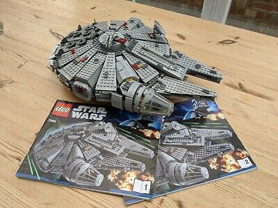 Lego Star Wars 7965 Millennium Falcon With Instructions 1,254 Pieces