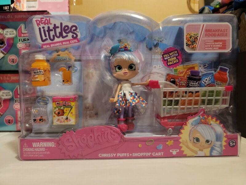SHOPKINS Real Littles Chrissy Puffs + Shoppin