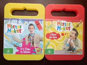 Two Mister Maker Dvds Springvale South Greater Dandenong Preview