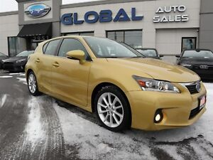 2011 Lexus CT 200h Premium HYBRID LEATHER SUNROOF.