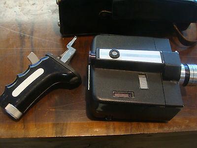BELL & HOWELL Autoload Zoom Reflex 8mm Filmkamera mit Griff und Tasche