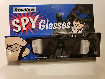 Spy Glasses Rear View Mirror Mirrored Fun Kids Toy Gift Sun Eye Side See (Mirror Spy Glasses)