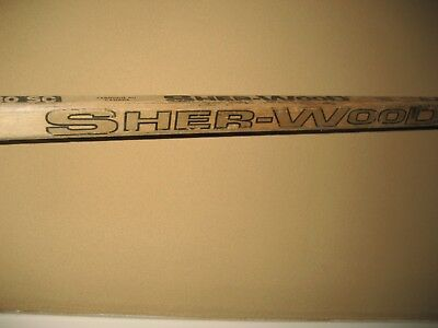 Vintage SHER-WOOD PMP 5030 SC COFFEY Feather-Lite Wood Hockey Stick Right Blade