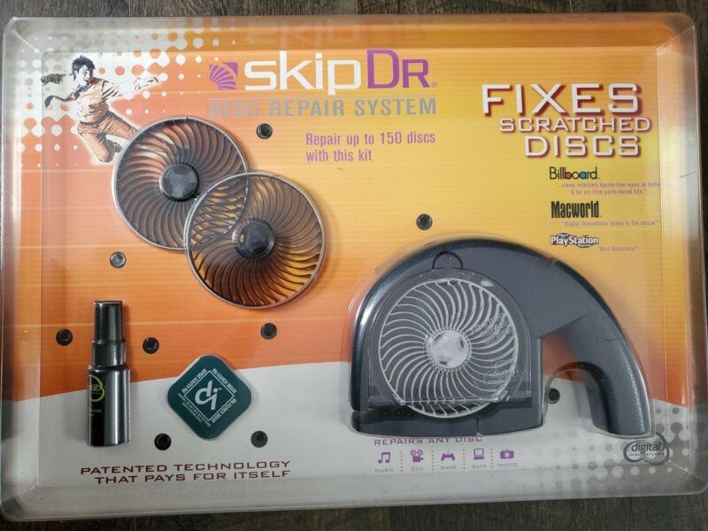 SkipDr. Digital Innovations Kit 477328 CD & DVD Disc Repair System Moterized