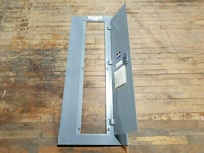 Square D Mhc-50s Front Panelboard Cover Door 50 X 20 No Key Enclosure Steel