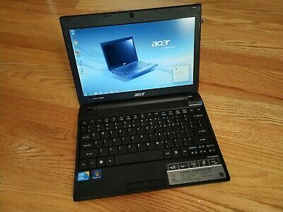 Acer TravelMate 8172 Laptop - Lightly used but WORKING for online classwork!