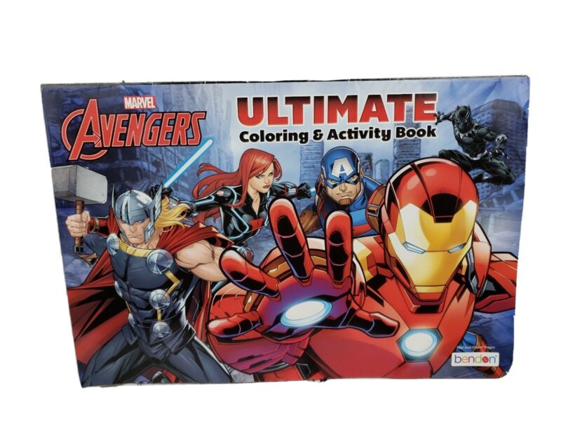Marvel Avengers Giant Ultimate Coloring & Activity Book Bendon