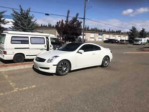 Infiniti G35 coupe White $6500 firm