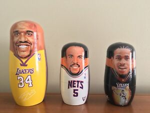 BASKETBALL *RARE* NESTING DOLLS