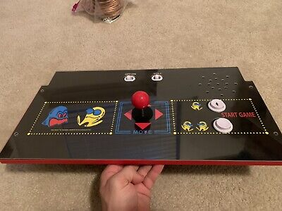 Brand New arcade 1up pacman control button panel assembly replacement Pac Man