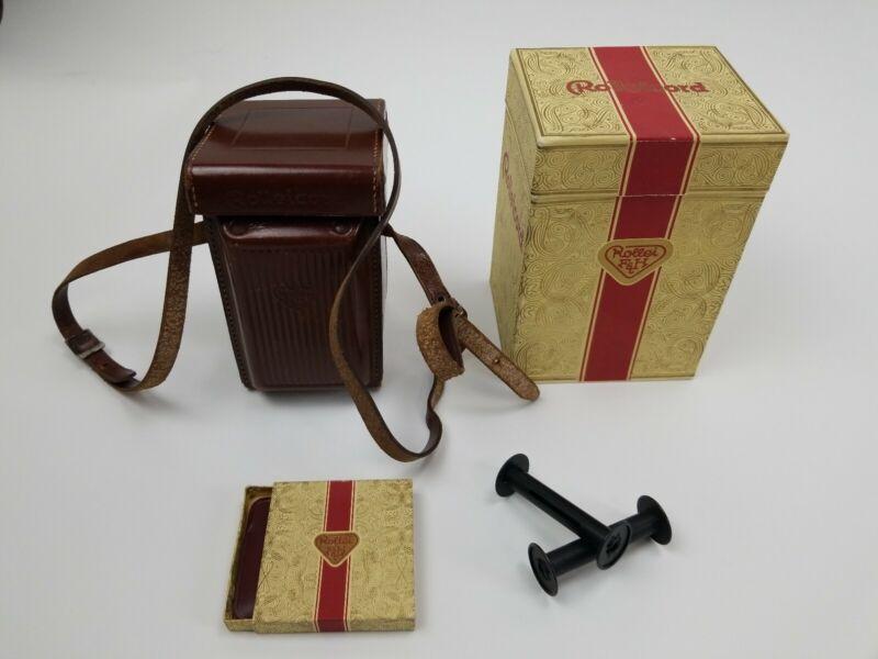 Rolleicord F H Case Camera Box Accessory Rolleiflex