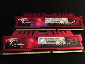 G.Skill - Ripjaws X Series 8GB (2 x 4GB) DDR3-1600 Memory