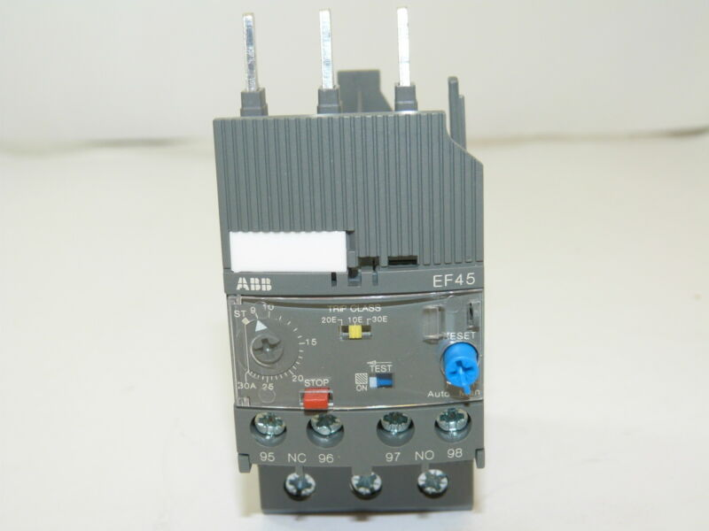 ABB EF45-30 Electronic Overload Relay 9.0-30A NEW 1yr Warranty
