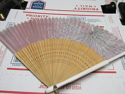 [DFa] 2 vintage antique japanese hand fan