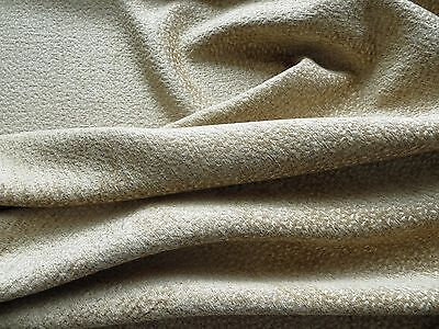 """""""Rockdale"""" textured chenille upholstery weight decorator material in sand"""