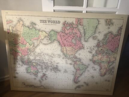 World map national geographic miscellaneous goods gumtree world map gumiabroncs Image collections