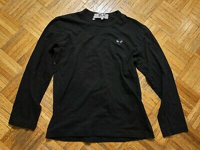Comme des Garçons PLAY logo crewneck, made in Japan