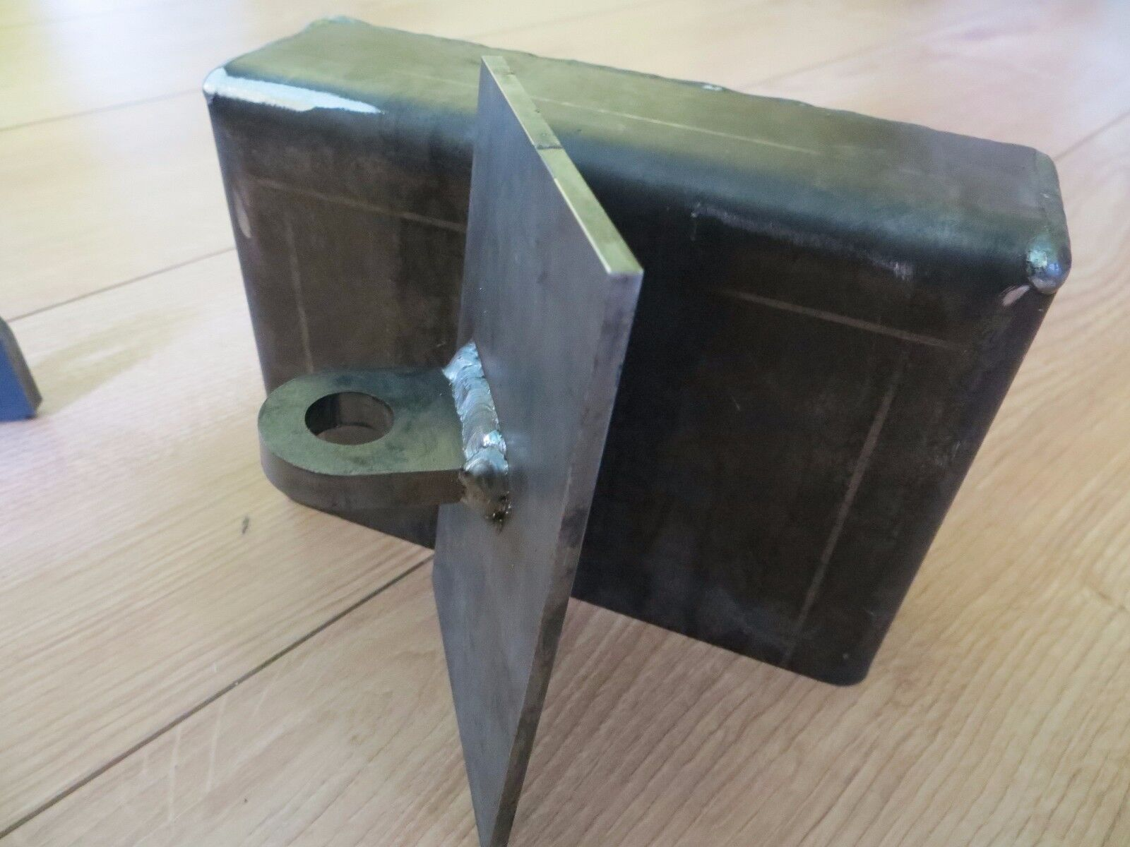 Shipping container weld on lock box right hand opening door security picclick uk - Shipping container end welding ...