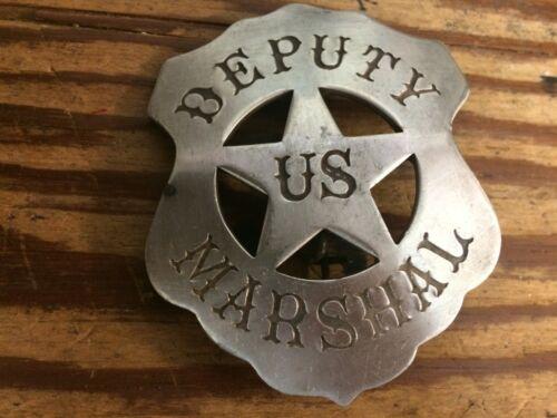 "Badge: U.S. Marshal,  ""Festus"" , Lawman, Police, Old West"