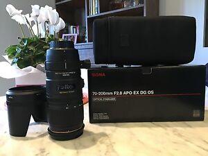 Sigma 70-200 f2.8 APO EX DG OS for Nikon Richmond Yarra Area Preview