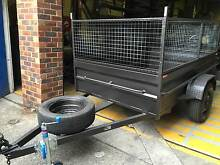 7X5 BOX TRAILER WITH NSW PRIVATE REGO FREE AND 600MM CAGE Smithfield Parramatta Area Preview