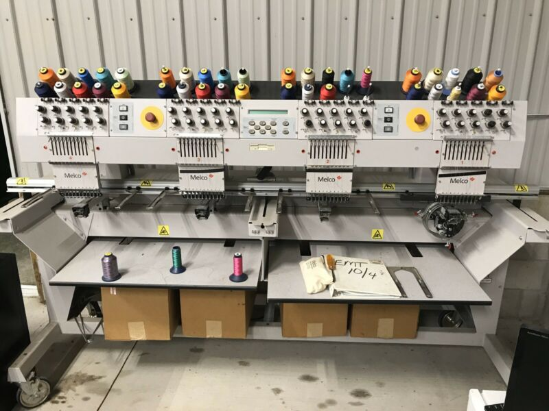 Melco Commercial Embroidery Equipment