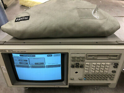 Agilent Hp 1671a Deep Memory Logic Analyzer Very Nice With Probes Cables
