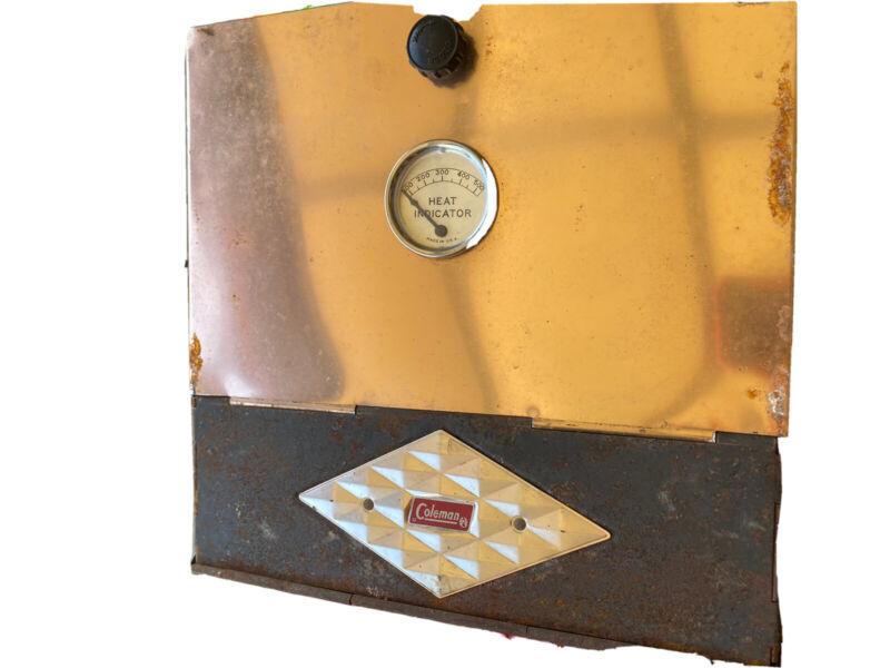 Vintage Coleman Diamond Camp Oven