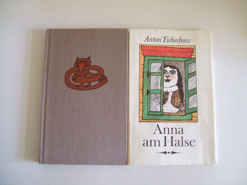 """Anton Tschechow """" Anna am Halse - Erzählungen """" = Leinen mit Schutzumschlag"""