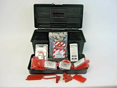 North Honeywell Lockout Tagout Safety Franaise French Kit New In Box