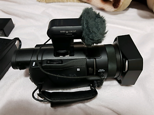 Sony 4k Professional Camera Video Recorder Camcorder AX100 Yokine Stirling Area Preview