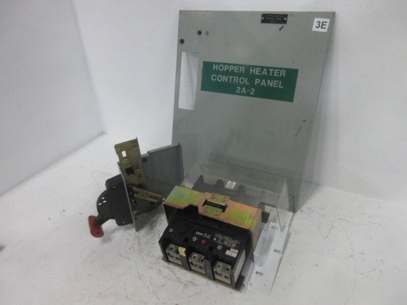 GE 8000 Series 225 Amp Main Breaker Type MCC Feeder Bucket 225A General Electric