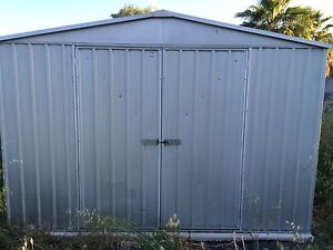3x3 shed and concrete pavers Davoren Park Playford Area Preview