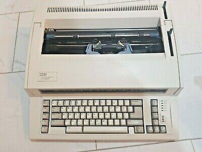 Ibm Personal Wheel Writer 2 By Lexmark Electronic Typewriter 6781-025 Oem